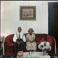 mr. and mrs. albert thornton, mobile, alabama by gordon parks