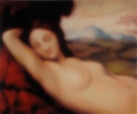 sleeping venus (after giorgione) by jeff muhs