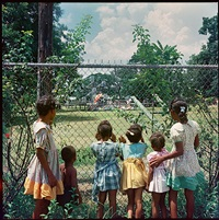 outside looking in, mobile, alabama by gordon parks