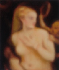 venus with a mirror (aftertitian) by jeff muhs