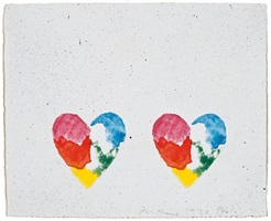 untitled, from the dutch hearts portfolio by jim dine