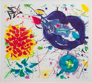 senza titolo iii (untitled iii) by sam francis