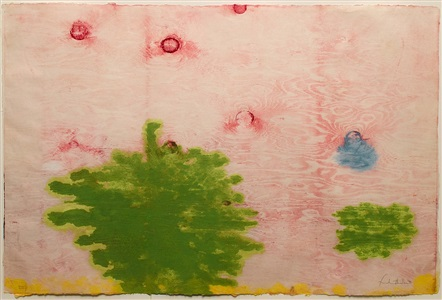recent acquistions prints and drawings 1911-2009 by helen frankenthaler
