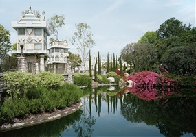 pond. anaheim, california by thomas struth