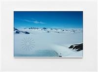 antarctic footprints by richard long