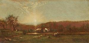 early landscape by ralph albert blakelock