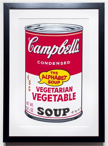 vegetarian vegetable, from campbell's soup ii by andy warhol