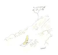 premier soleil by jean-jacques sempé