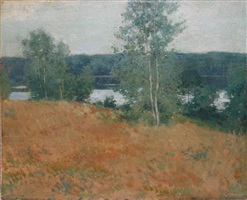 landscape by willard leroy metcalf