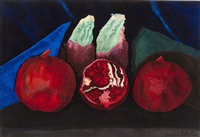 tropical fruits by joseph stella