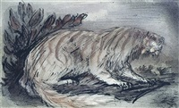 die traumkatze (dream-cat) by alfred kubin