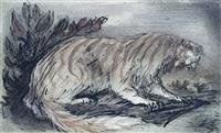 die traumkatze (dream-cat) by alfred kubin