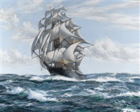 the flying fish by montague dawson