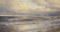 second beach, newport, rhode island by william trost richards