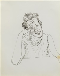 bette fischer by alice neel