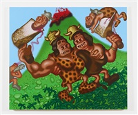 prehistoric women by peter saul