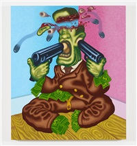 wall street suicide by peter saul