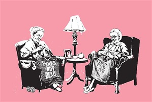 grannies by banksy