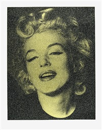 marilyn hope (liquid gold) by russell young