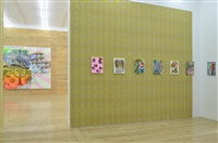 installation view, cristine streuli: collar size / kragenweite: 36 - sfeir-semler gallery hamburg by christine streuli