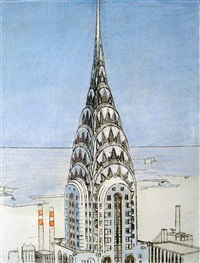 chrysler building by richard haas