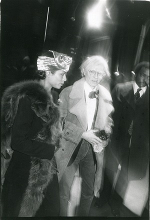 out on the town bianca jagger and andy warhol by bob colacello