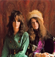 grace slick & janis joplin by jim marshall
