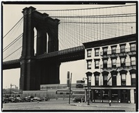 brooklyn bridge, new york by brett weston