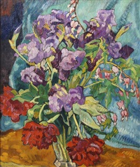 piviones et iris by louis valtat