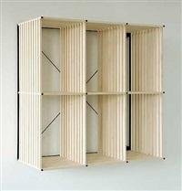 modular shelving unit (pk reol bookcase) by poul kjaerholm
