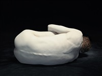 bodies: michael curled away by nadav kander