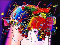 mondrian ladies by peter max