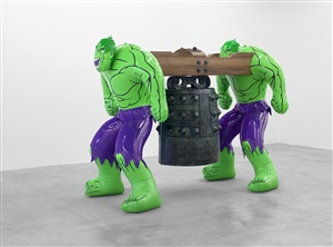 hulks (bell) by jeff koons