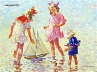 the sail boat by robert sarsony