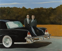 transaction at noon by julio larraz