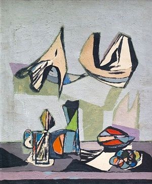 still life abstract by jankel adler