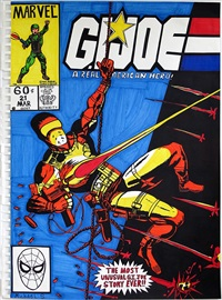 g.i. joe #21 by michael scoggins