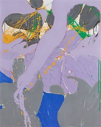 untitled (a7009) by norman bluhm