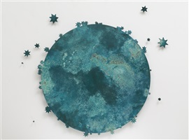 blue moon iii by kiki smith