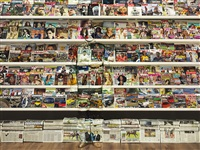 swiss magazine by liu bolin