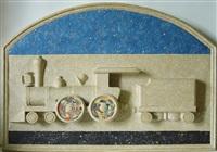 fable de la reine des etoils filant sur rail de chemin de fer by jiri kolar