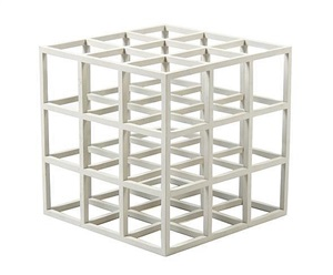 untitled (cube) by sol lewitt