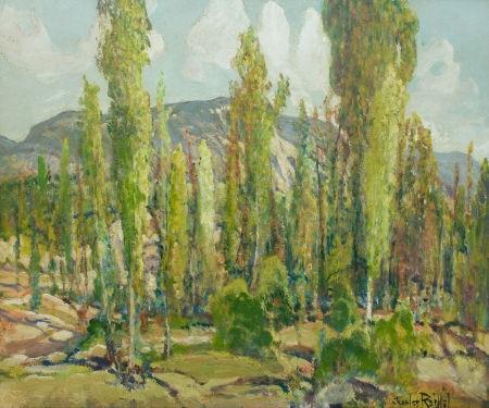 eucalyptus grove by charles reiffel