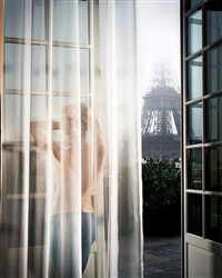 girl in paris from girls by david drebin