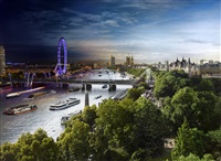 day to night, view from the savoy by stephen wilkes