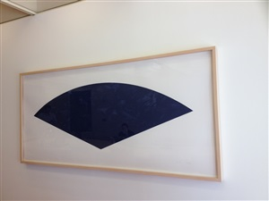 blue curve by ellsworth kelly