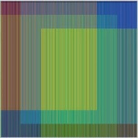 physichromie 1864 by carlos cruz-diez