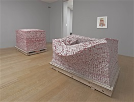 installation view by fang lijun
