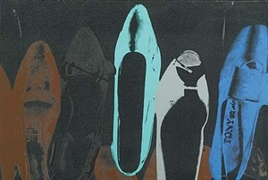 shoes with dd (257) by andy warhol