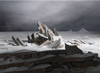 sea of ice by james casebere
